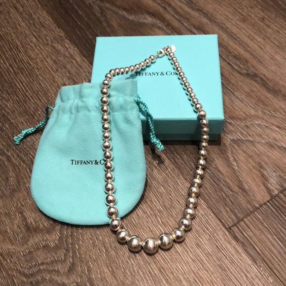 Tiffany & Co. Jewelry - Tiffany Graduated Bead Necklace